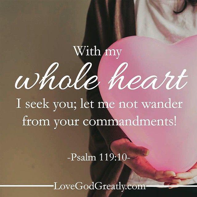 #LoveGodGreatly #Psalm119 Week 1- Tuesday