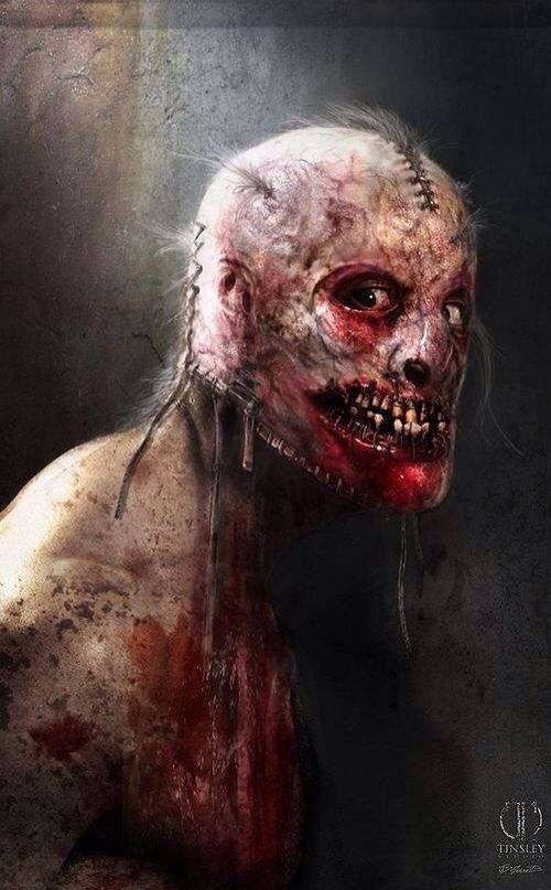 Ahs bloody face