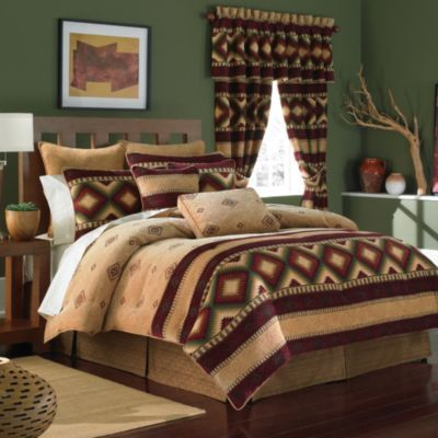 Croscill® Navajo 4-Piece Comforter Set - BedBathandBeyond.com