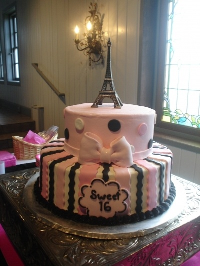 Sweet 16 cake. By Sweetly Stacked.  https://www.facebook.com/pages/Sweetly-Stacked/103294699762439