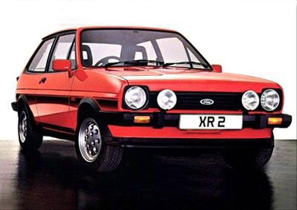 1981 Ford Fiesta Mk I XR2  1,6 litre