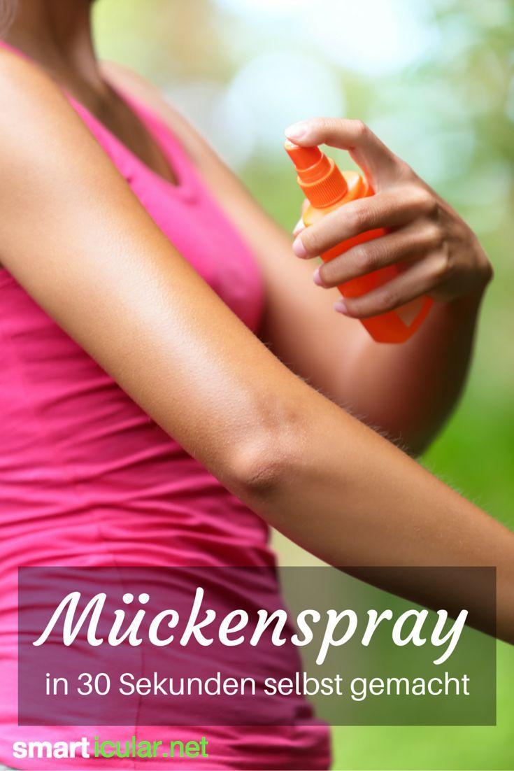 Bist du ein Mückenmagnet und suchst nach Wegen, wie du die Stiche natürlich vermeidest? Mit diesem Rezept stellst du ein natürliches Anti-Mücken-Spray her!: