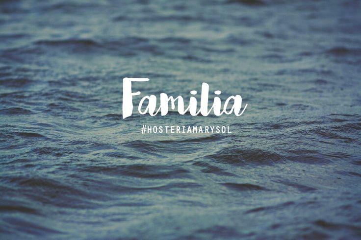 · F A M I L I A ·  Una de las palabras que define la experiencia de nuestros huéspedes - #HosteríaMarySol #SanAndrés #Familia
