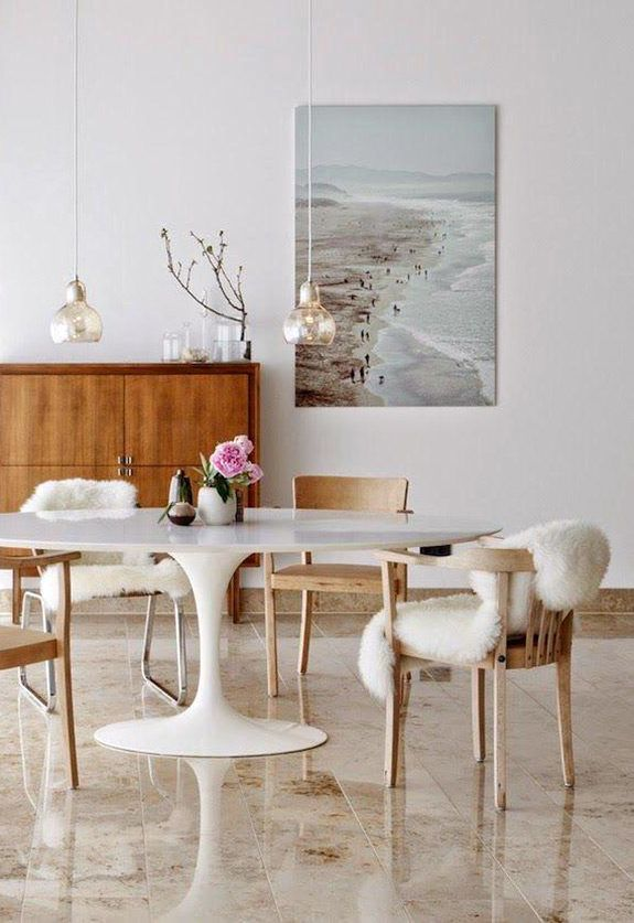 Saarinen Obsession With Images Tulip Dining Table Knoll