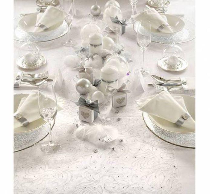 #Tischdeko zu #Weihnachten in  #Silber :) Wundervoll, zauberhaft und märchenhaft :) http://www.ebay.de/usr/pressiode