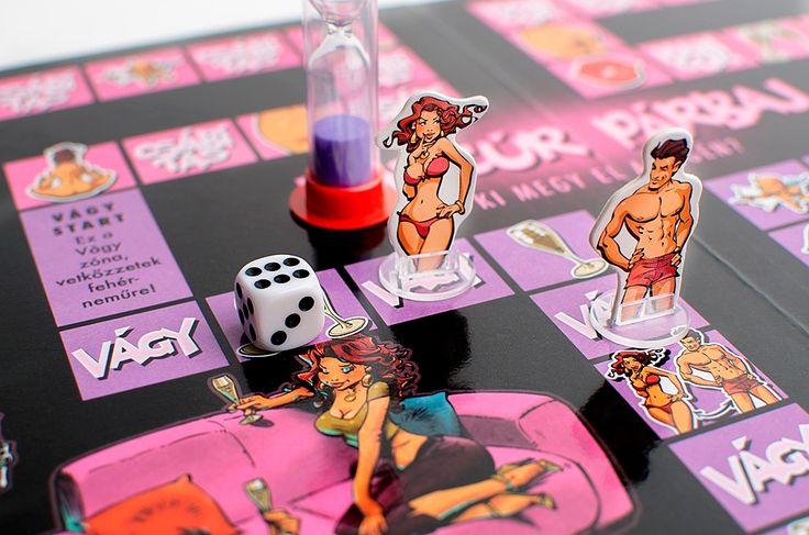 Hancúr párbaj társasjáték felnőtteknek | Vibrátor Info