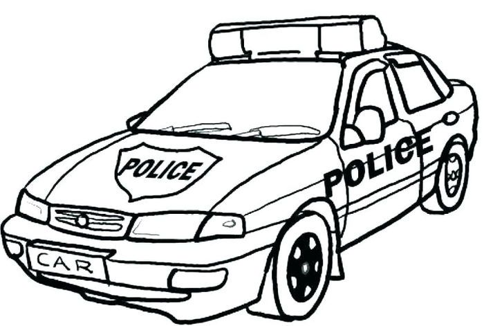 Coloring Pages Police Car Cars Coloring Pages Race Car Coloring Pages Police Cars