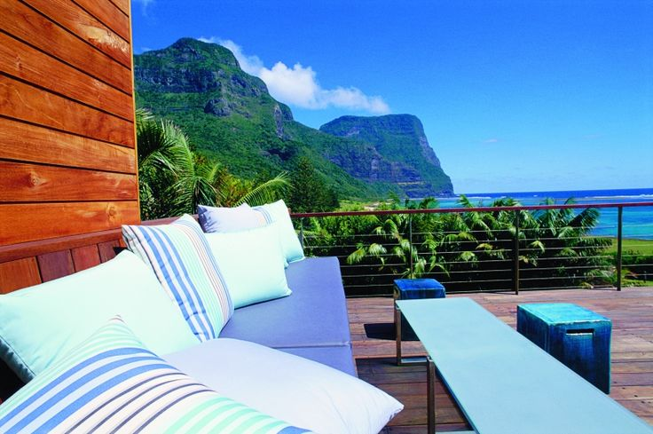 Capella Lodge, Lord Howe Island - Gowers Terrace