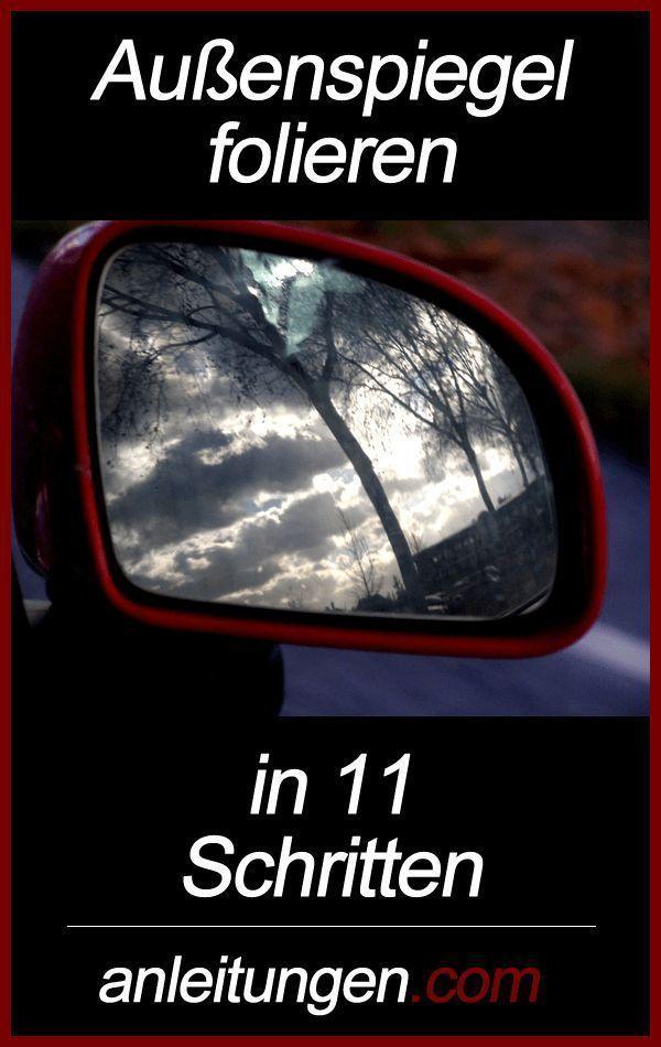 #AutoundMädchen-Außenspiegel folieren – Das Folieren eines Außenspiegels ist …