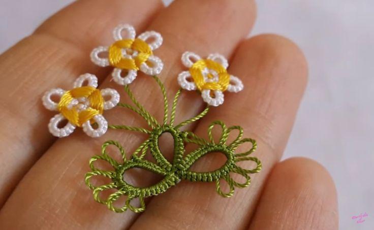 Mekik Oyası Yapımı Anlatımlı , #çiçekmekikoyası #engüzelmekikoyası #marifetliellermekikoyaları #papatyamekikoyasıyapımı , Baharın en güzel çiçeklerinden papatya ile mekik oyası yapımı anlatımlı olarak sizlerle. Bizim oralarda sarı renkli papatyalarda çok olur. ...
