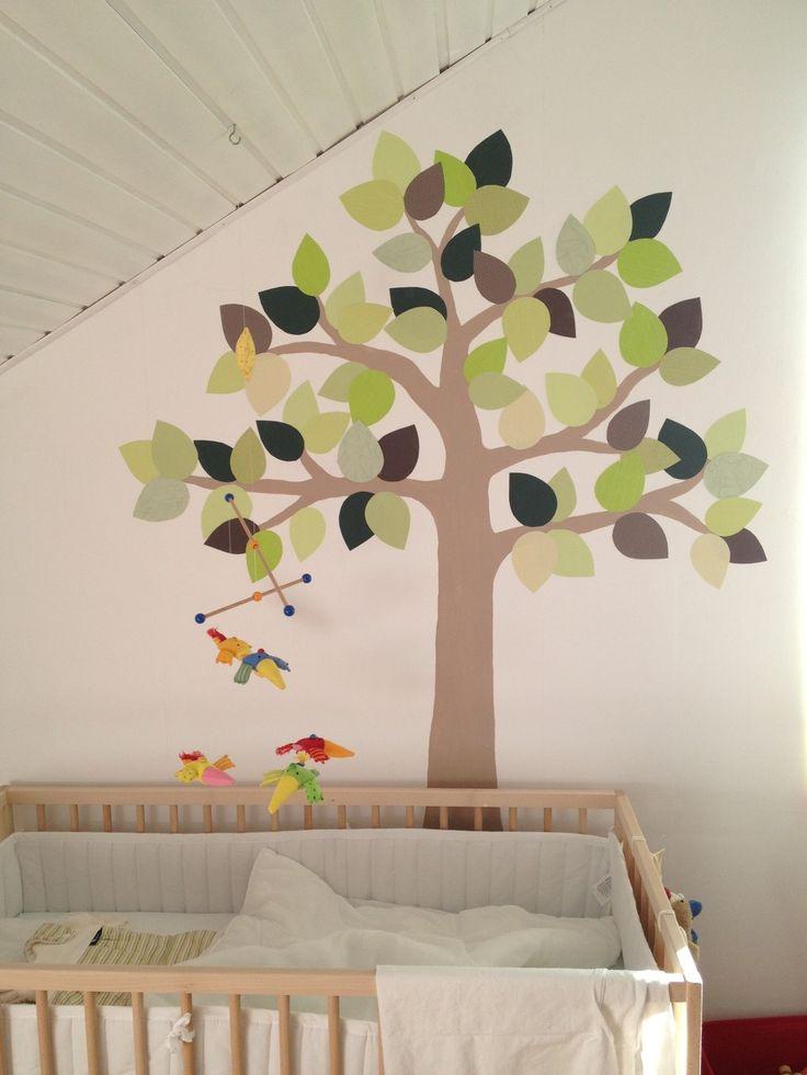 Das Kinderzimmer. Lange habe ich mir darüber Gedanken gemacht, wie man die weißen Wände verschönern kann.Ich bin kein Fan von bunten Tapeten, Bären, Enten und diversen süßen Bordüren und viele Wand...