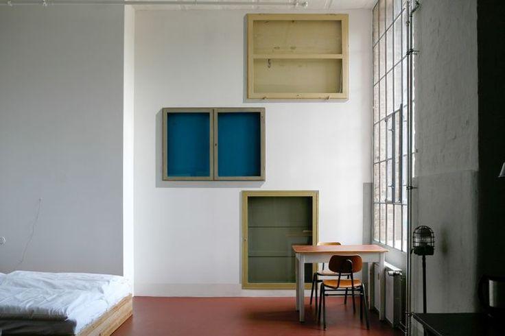 Appartement / Zimmer #4 - Schaukästen, Licht geht auch aus