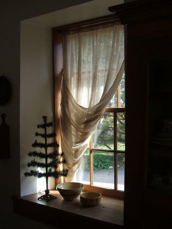 Farmhouse Window Valance Country Curtains