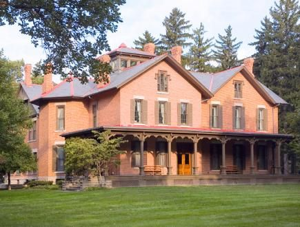 Rutherford B. Hayes Center- Fremont - 5 Ohio Presidential Sites | Midwest Living