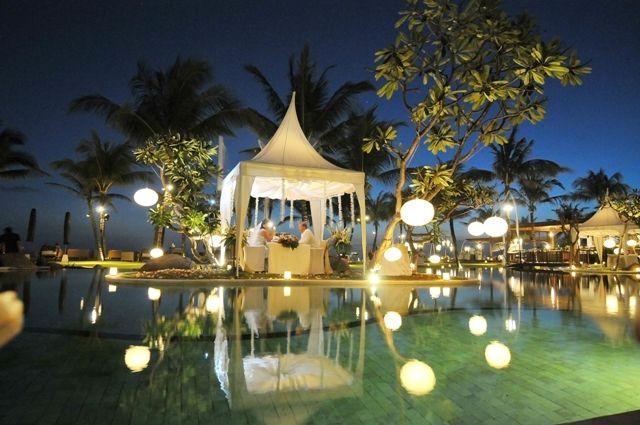 The Samaya Villas Bali, Seminyak Bali - romantic ~ beautiful places to visit in Indonesia.