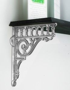 """""""Victorian Amalina"""" Ornate Scroll Bracket Bright Chrome - Chrome Shelf Brackets - Shelf Brackets - Other Hardware - Home & Interiors - Catalogue 