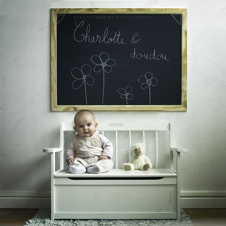 Charlotte & Doudou by Franck Barlet on 500px. #baby #bébé
