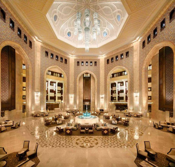 San Francisco Map Ritz Carlton%0A Inside Al Bustan Palace  a RitzCarlton Hotel  a    meter high atrium
