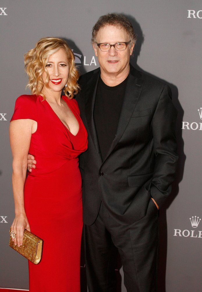 Kimberly and Albert Brooks, among guests at the LA Phil Gala celebrating Disney Hall's 10th anniversary