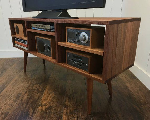 reputable site 0b80a 885ea Mid century modern TV stand stereo cabinet or media console ...