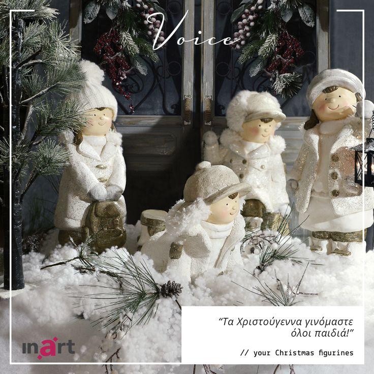 Τι θα έλεγαν οι δικές σου Χριστουγεννιάτικες φιγούρες αν μπορούσαν να μιλήσουν; #inartLiving