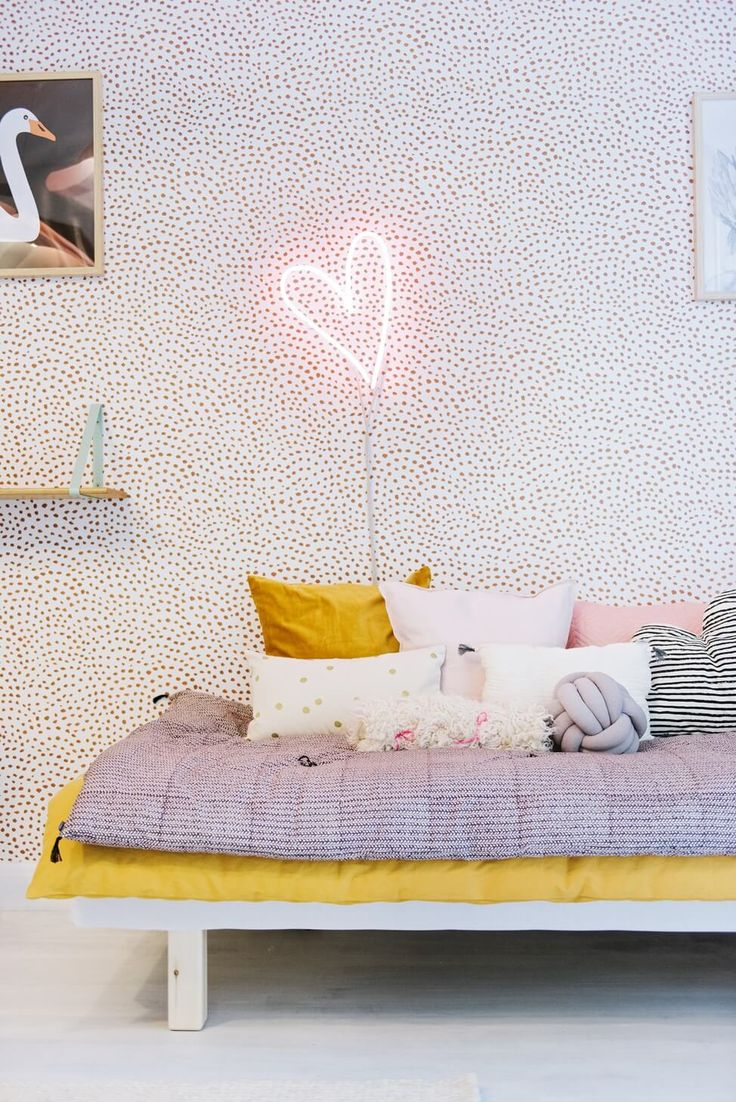 La chambre d  'une petite fille pleine de poésie – FrenchyFancy   – Intérieurs de rêve