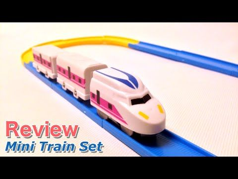 Yoshiny's Design: Mini Bullet Train Set from Daiso Japan