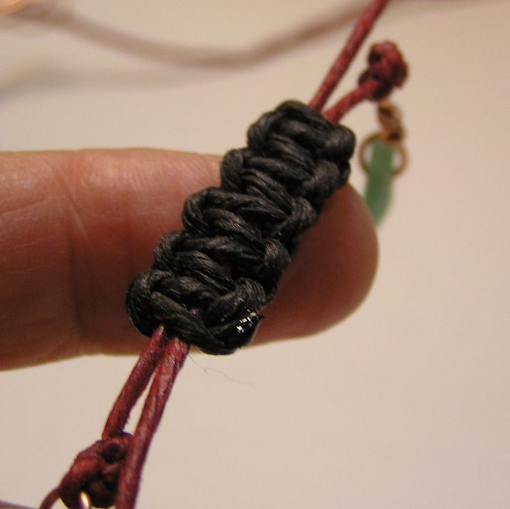 necklace knot tying instructions
