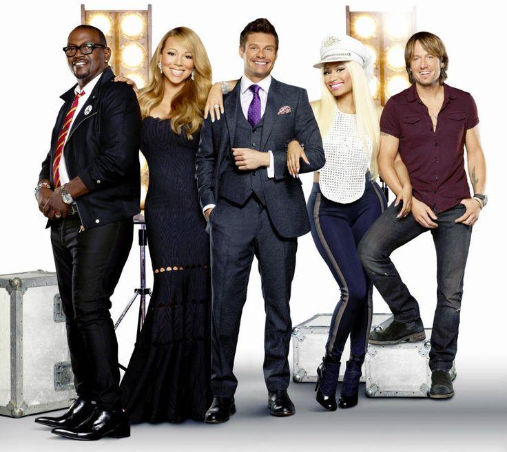 Randy Jackson, Ryan Seacrest, Nicki Minaj, Keith Urban - Mariah Carey's life in pictures