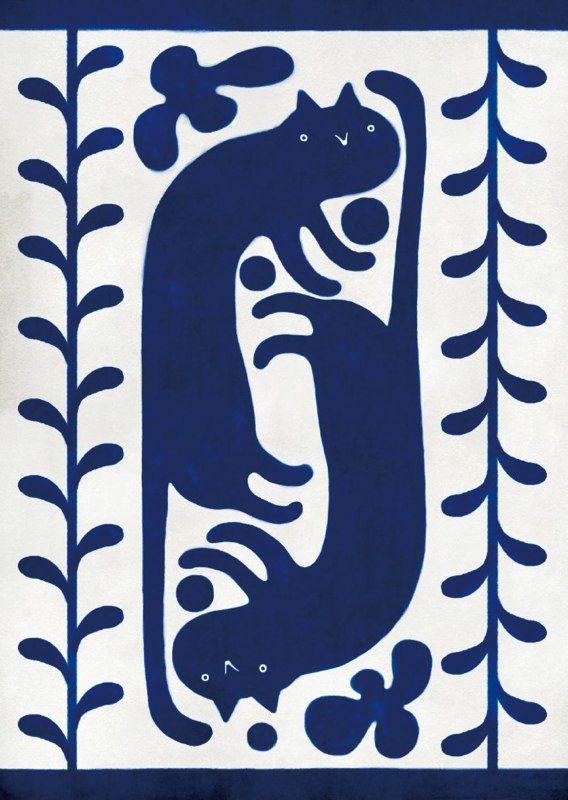 Takashi Tsushima - Blue Cat