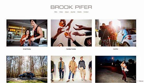 Ejemplos de portafolios de fotógrafos profesionales