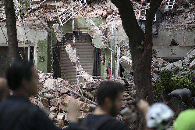 19/09/17, CDMX: Rostros de solidaridad, dolor, angustia frente al desastre