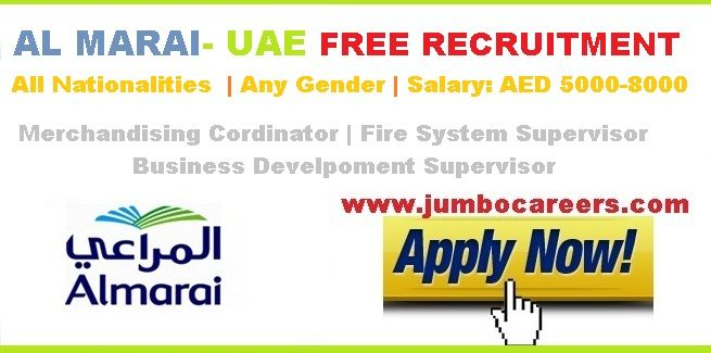 Latest Al Marai Jobs Uae 2018 Free Recruitment Jobs For