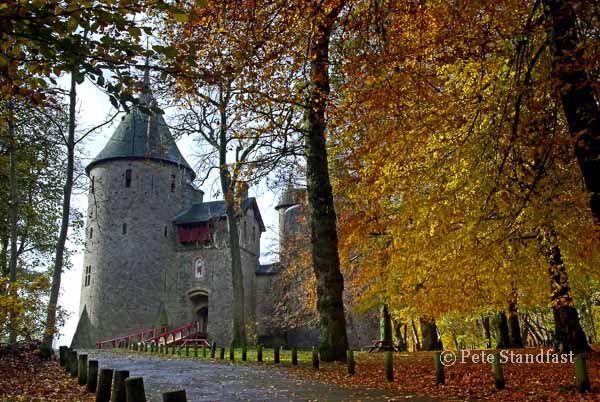 Autumn at Castell Coch