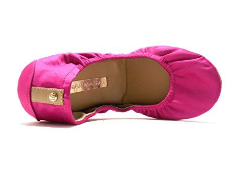 BCBGMAXAZRIA MAKylie Womens Ballet Flat Shoes Cerise pink Color 65 M *** Click on the affiliate link Amazon.com on image for additional details.