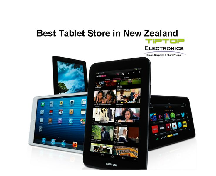 Tip Top Electronics NZ is an online electronic store that caters to the electronics needs of a diverse clientele and offers them the best cheap tablets, laptops, mobile phones, etc. at competitive rates.