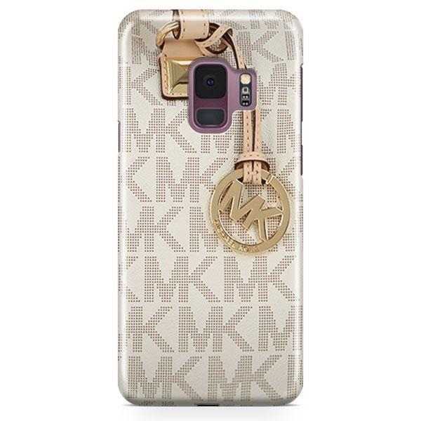 timeless design 16878 c908c Michael Kors Mk Bag Texture Print Samsung Galaxy S9 Plus Case ...