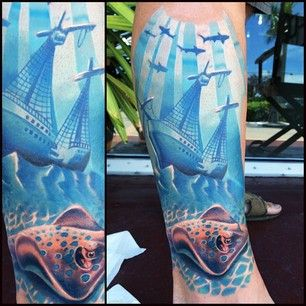 Underwater Shipwreck Tattoo 25+ best ideas ...