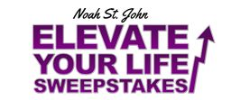 Enter the Elevate Your Life Sweepstakes now for your chance to win a a 3-night stay in Orlando at the lovely Bonnet Creek Resort (on Disney property), a private half-day Mastermind with bestselling author and business mentor Noah St. John, and two tickets to Noah's Quantum Wealth Bootcamp in Las Vegas. No cost to enter.