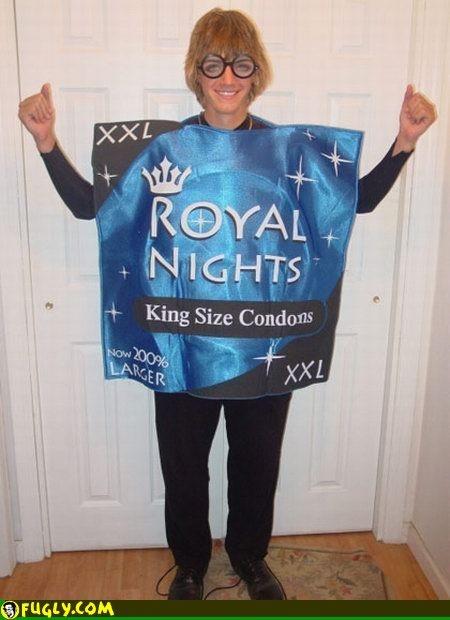 Halloween Condom Costume