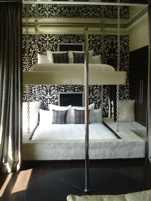 Love this design!  The King-Sized Bunk Beds at Andaz San Diego || HotelChatter