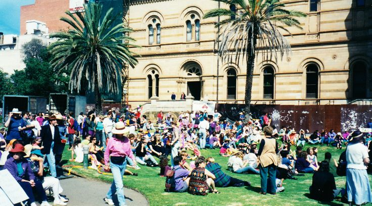 International Women's Day march 1994
