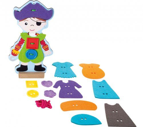 Πειρατής με κορδόνια/ Pirate threading dressing doll