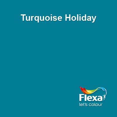 Flexa Creations kleur: Turquoise Holiday