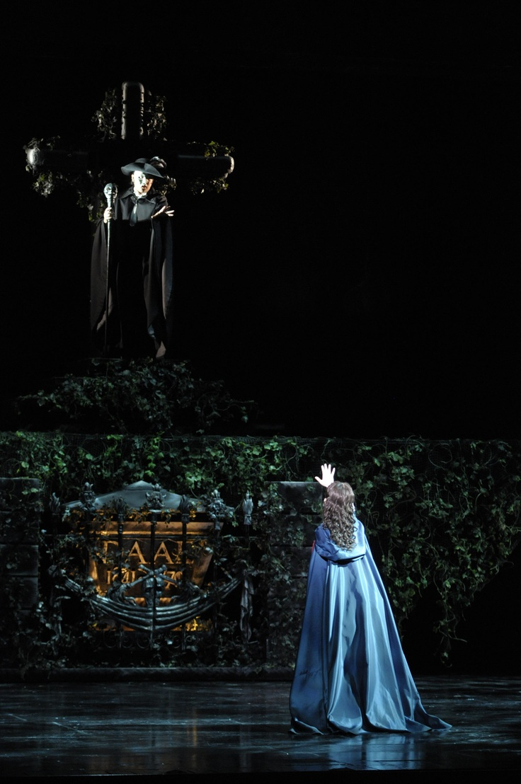 """The Phantom and Christine 