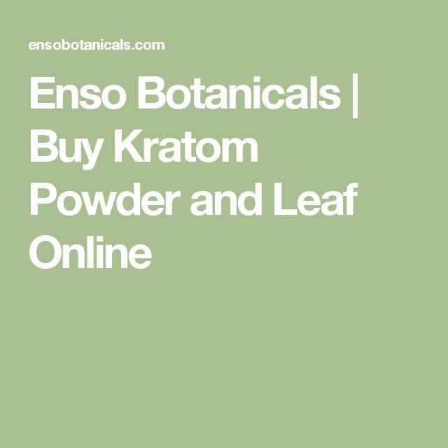 Enso Botanicals | Buy Kratom Powder and Leaf Online
