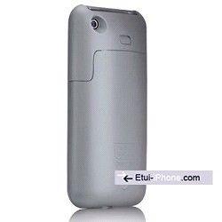 Etui iPhone 3G/S batterie fuel lite gris sur http://www.etui-iphone.com/c/etui-iphone-3gs.awp