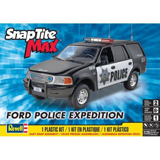 Revell SnapTite Max Ford Expedition Police SSV Plastic Model Kit