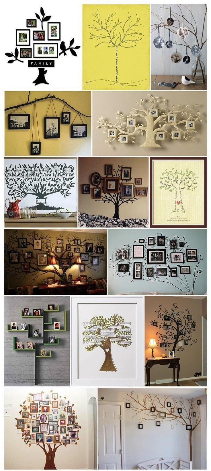写真の飾り方いろいろ。思い出の木。