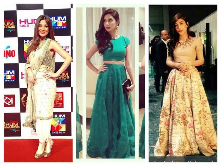 Hum TV Awards 2015 Pakistani Celebrities At Red Carpet